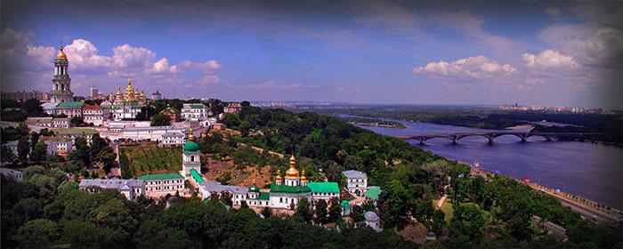 Киево-Печерская Лавра. Панорама